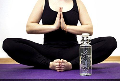 soulbottle 0 6l trinkflasche aus glas. Black Bedroom Furniture Sets. Home Design Ideas