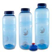 Acala Trinkflaschen optimal Set aus Tritan mit Blume des Lebens - 1
