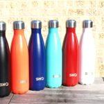 YOUR Bottle! von SHO - Ultimative Trinkflasche, Insolierte, Doppelwandige Edelstahl Wasserflasche & Trinkflaschen (Isolierflasche) - 24 Stunden Kalt & 12 Heiß - 500ml - BPA Frei - Lebenslange Garantie (Ice White, 500ml) - 8