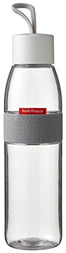 Rosti Mepal Wasserflasche Ellipse Polyethylenterephthalat;/ABS 6,3x 6,3x 27cm 500ml, durchsichtig, 6.3 x 6.3 x 27 cm