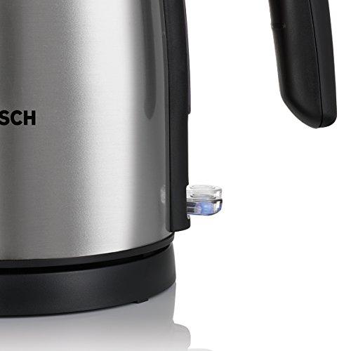 Bosch TWK7801 Wasserkocher in Edelstahl (2200 W maximal, 1
